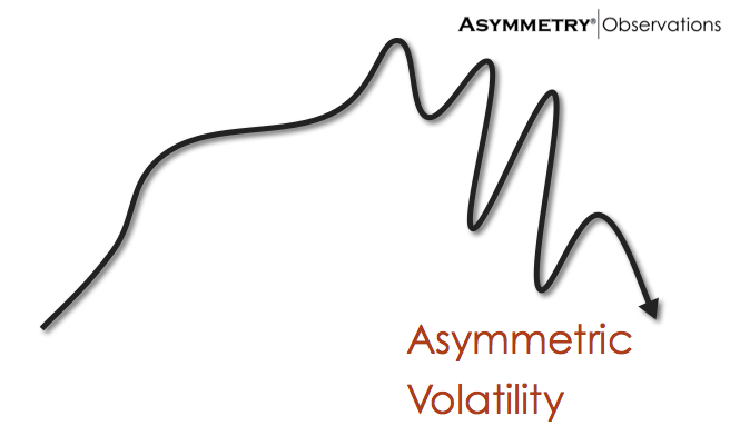 asymmetric volatility asymmetry observations