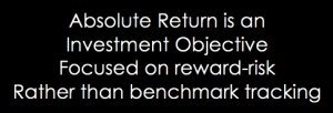 Absolute Return objective fund strategy
