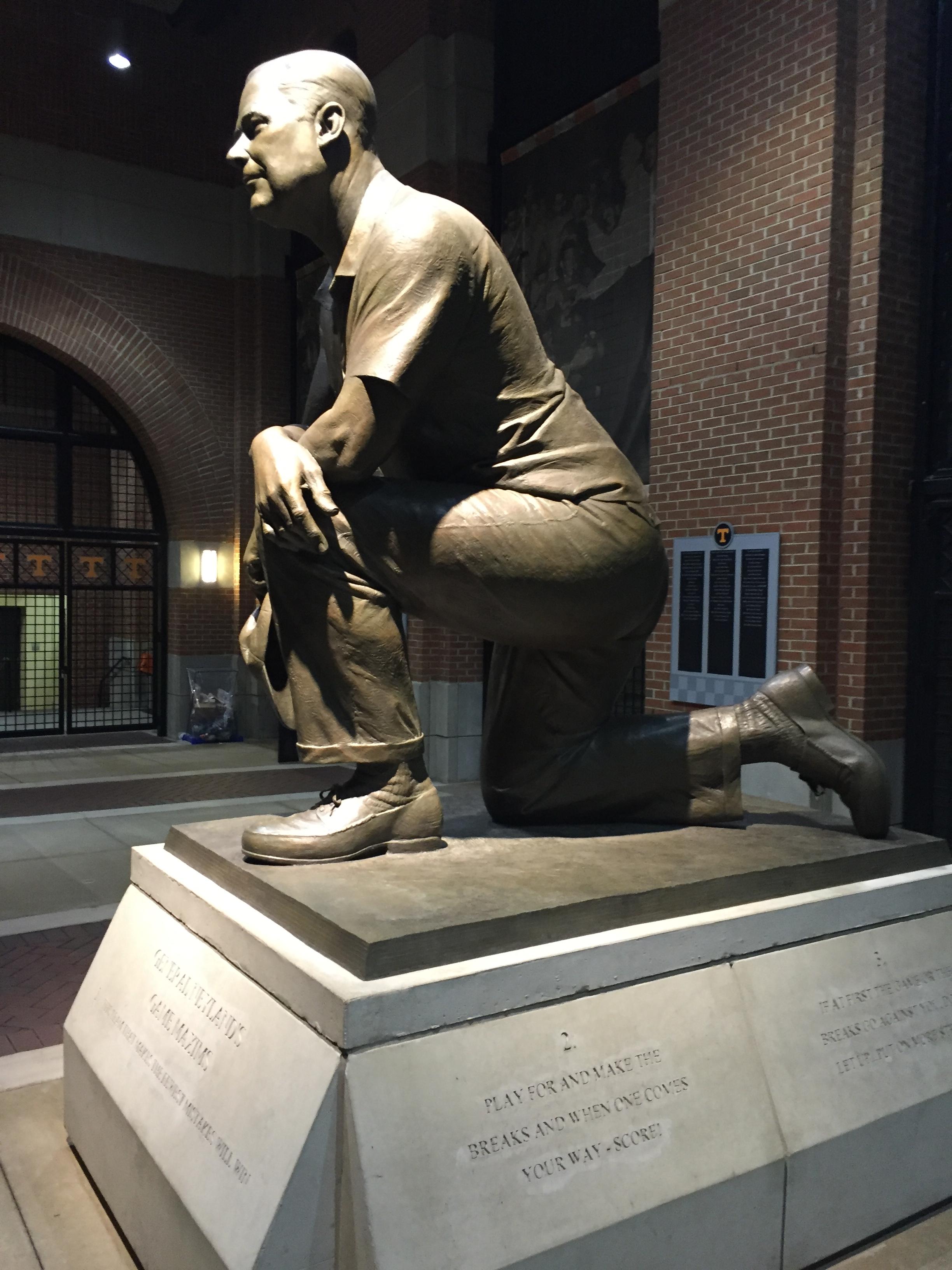 Mike Shell Capital Neyland Stadiium Statue