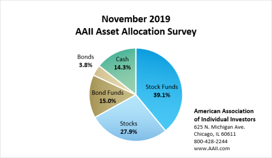 AAII allocation survey bullish