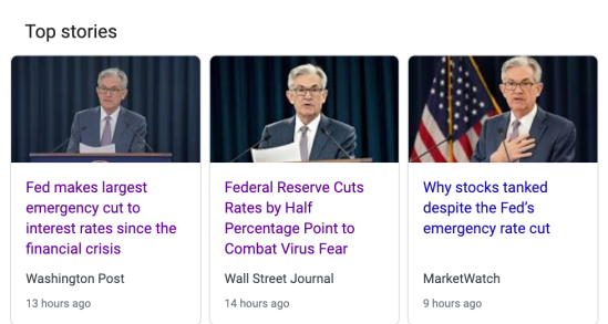 fed rate cut march 2020