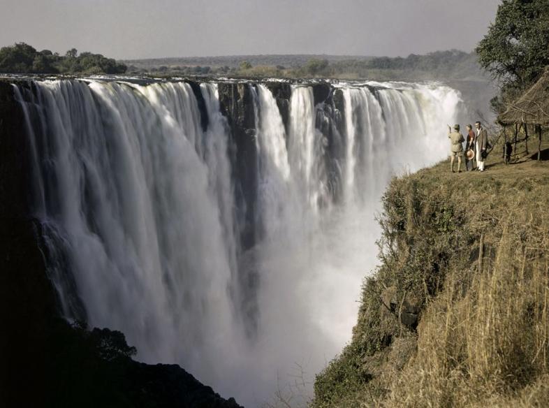 waterfall decline in stocks stock market